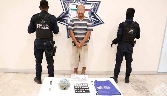 """Policía Estatal detiene a presunto integrante de """"Angelinos 13"""""""