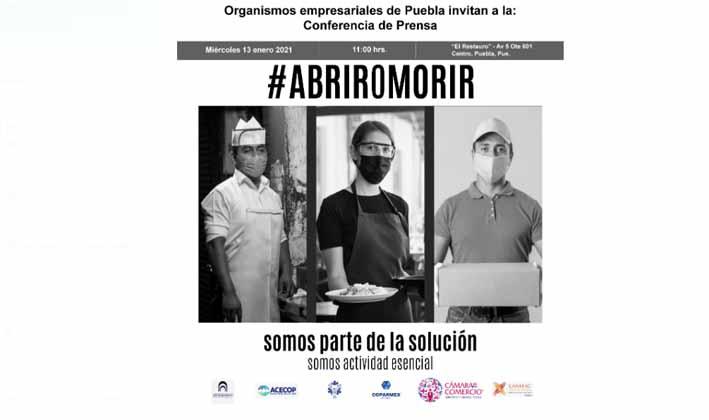 Urge otorgar apoyos a las empresas ante las nuevas disposiciones: COPARMEX Puebla