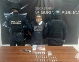Captura Policía Estatal a presunto asesino de niña