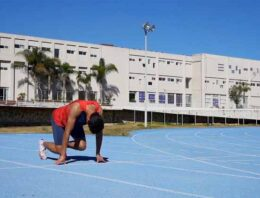 Aspira Gerardo Lomelí a ser el mejor velocista del país