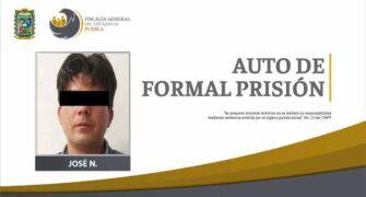 FGE obtuvo auto de formal prisión contra presunto secuestrador