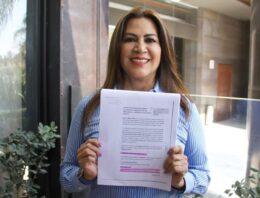 Blanca Jiménez impugna designación de candidato en San Andrés Cholula