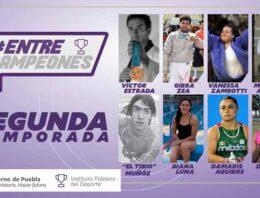 """Concluye INPODE segunda temporada de """"Entre Campeones"""""""