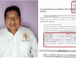 Denuncian a alcalde de Huauchinango por presunto uso de recursos con fines electorales