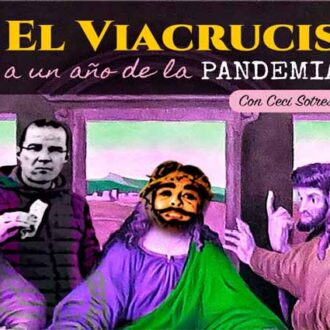 …La crucifixión de Yisus, vía streaming