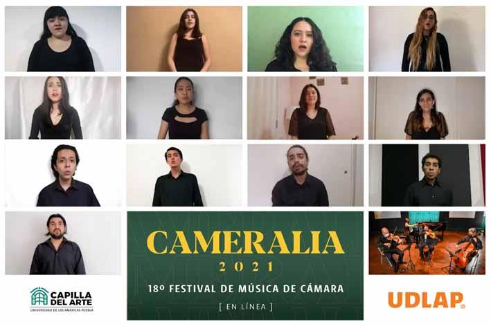Concluye la edición 18 de Cameralia Festival de Música de Cámara