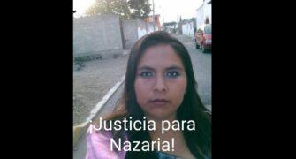 ¡Justicia para Nazaria! Familia teme libertad de sus asesinos