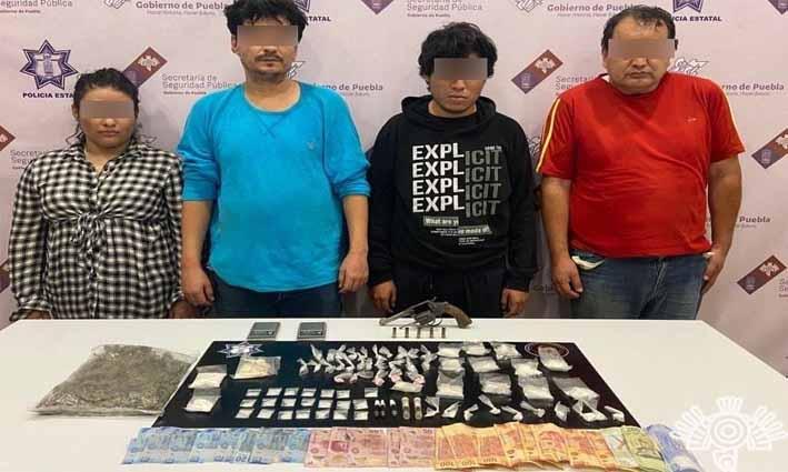 Detiene SSP a «El Noro», presunto líder narcomenudista de Tehuacán