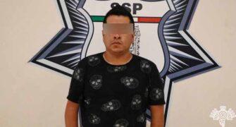 Al sur de la ciudad, Policía Estatal captura a presunto distribuidor de droga