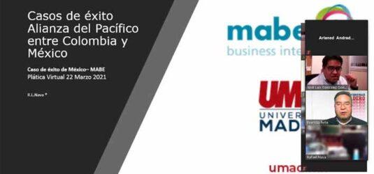 UMAD organizó charla con Cámara de Comercio México-Colombia