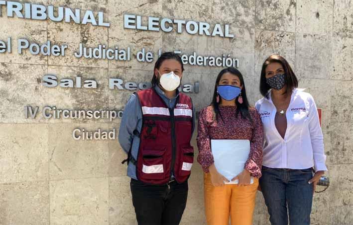 Impugna V0ianey García candidatura de Mauricio Toledo ante TEPJF