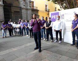 EL PES comprometido con promover el derecho al voto libre y razonado. Francisco Ramos
