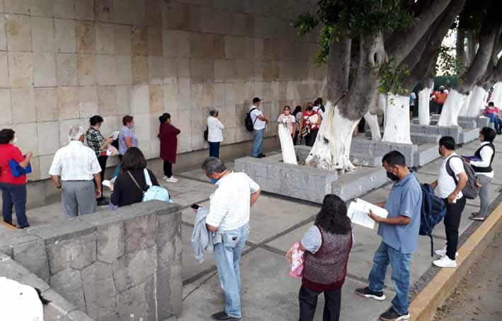 Puebla cambia color de semáforo