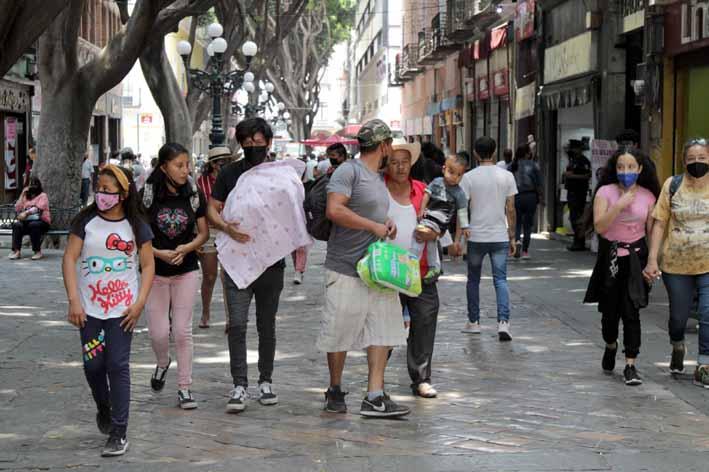 Informe epidemiológico en Puebla reporta 104 nuevos contagios y 17 decesos por Covid-19 en las últimas 24 horas