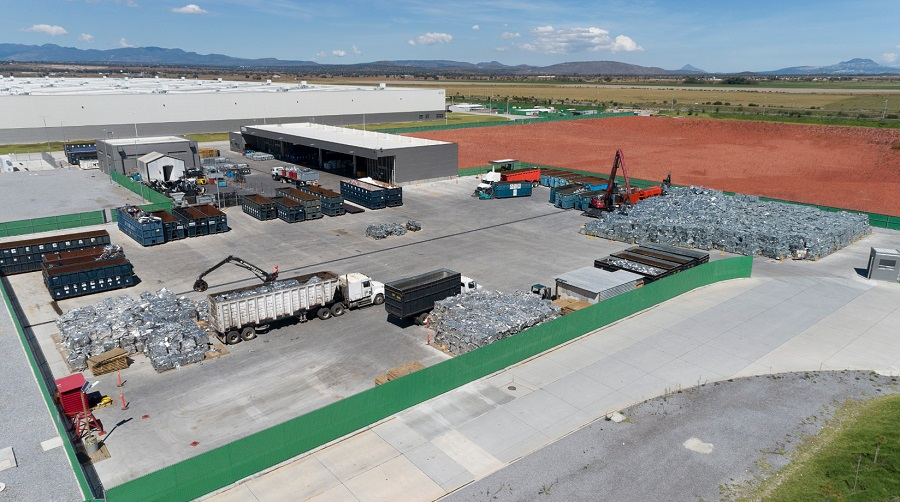 ¿Cuánto recicla de sus residuos Audi en México?