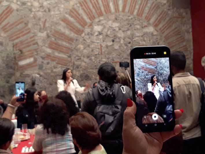 Niega Claudia Rivera uso de recursos públicos y acusa intromisión de Barbosa Huerta en la elección