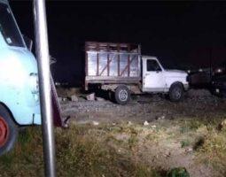 Policía Estatal localiza predio con vehículos robados en Coronango