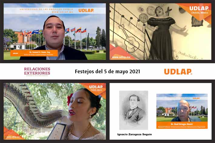 El talento UDLAP en los festejos internacionales del 5 de mayo