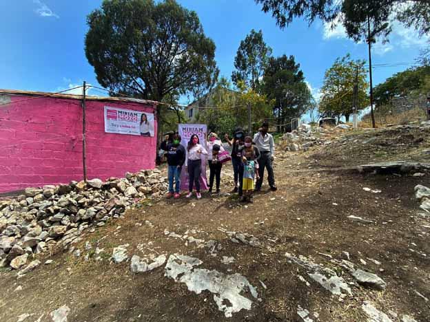 Miriam Mozo inaugura Casa Rosas