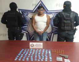 Operaba en Santa Isabel Cholula presunto narcovendedor