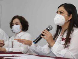 Poblanos decidirán donde invertir parte de los recursos del municipio: Claudia Rivera
