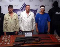 """Detienen a tres integrantes de """"Los Marroquín"""""""