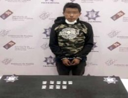 Presunto narcovendedor es detenido