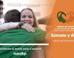 UDLAP crea Fondo de Apoyo para Estudiantes