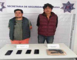En Zacatlán, frustran robo de vehículo
