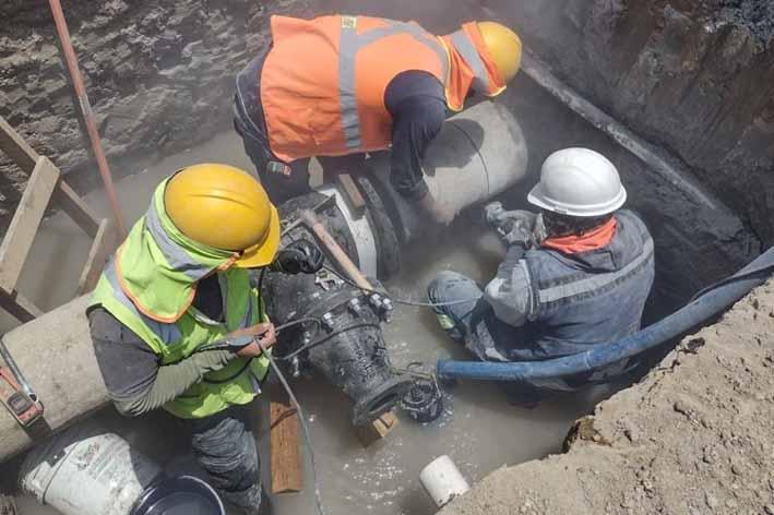 Agua de Puebla amplió la Línea de Distribución de agua potable