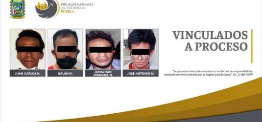 Vinculados a proceso presuntos responsables de robo en la capital poblana