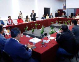 Gobierno de Puebla se reúne con diputados electos de Morena