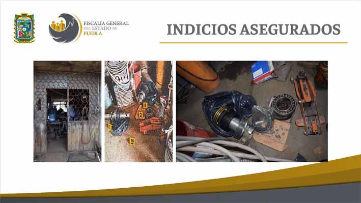 FGE cateó inmueble y recuperó piezas de la Estrella de Puebla