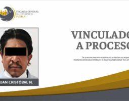 Prisión por presunta violación contra su hijastra en Totimehuacán