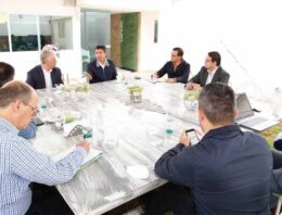 Se reúnen Eduardo Rivera, CCE y Consorcio Universitario