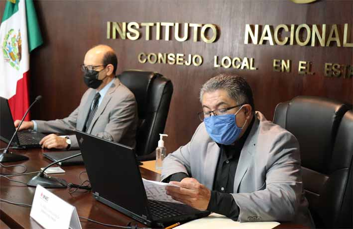 Entregó INE Puebla constancias de mayoría a diputadas y diputados federales electos