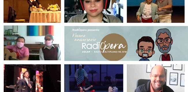 RadiÓpera celebra nueve años al aire y más 450 programas ininterrumpidos