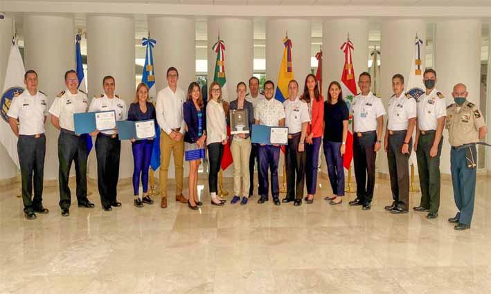 Alumnos y académicos UDLAP participan en Sistema de Comando de Incidentes del Centro de Estudios Superiores Navales