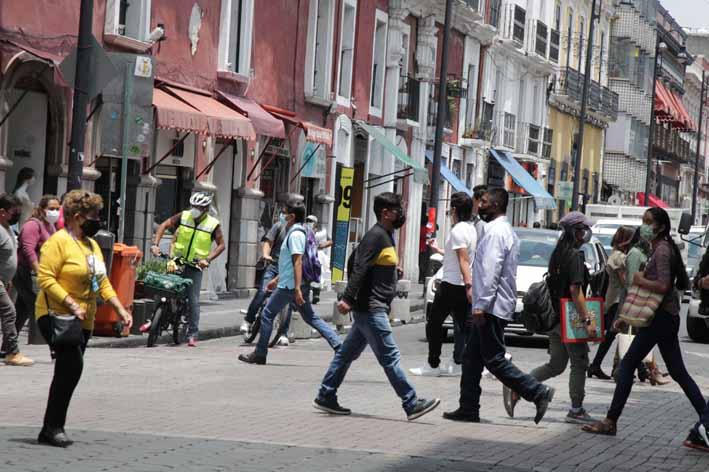 Aumentan los contagios por Covid-19 en Puebla por segundo día consecutivo