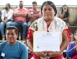 Inaugura IEEA espacios de formación educativa en la Sierra Nororiental