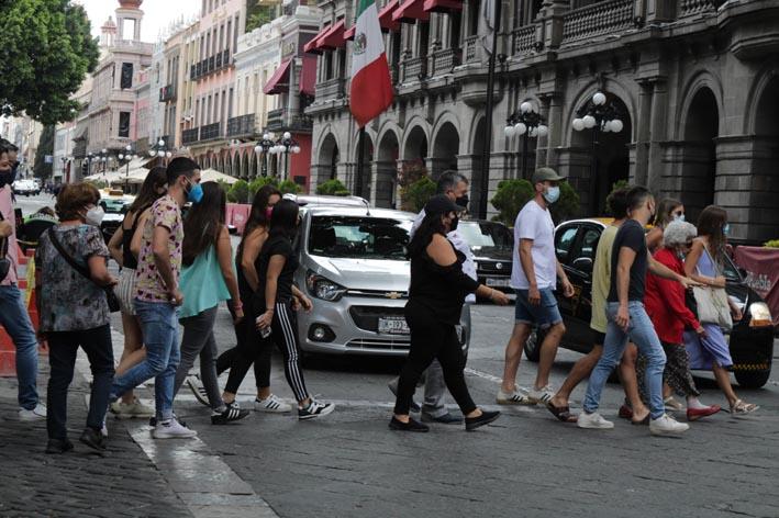 En las últimas 24 horas 293 contagios por Covid-19 en Puebla