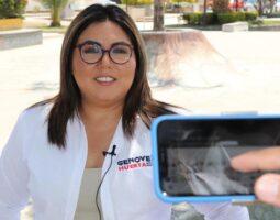 Anuncia Genoveva Huerta el arranque de los talleres de introducción al partido