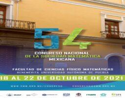 BUAP, sede del 54 Congreso Nacional de la Sociedad Matemática Mexicana