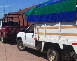 Detiene SSP a un hombre en posesión ilegal de combustible