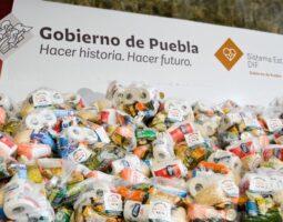 Granjas Carroll lleva 9 toneladas de víveres a damnificados de Puebla y Veracruz por Grace