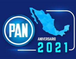 Encabeza Genoveva Huerta Aniversario 2021 de Acción Nacional en Puebla