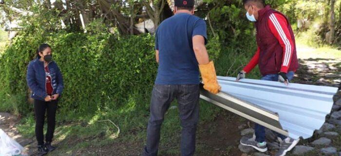 """Mantiene SEDIF entrega de víveres a damnificados por huracán """"Grace"""""""