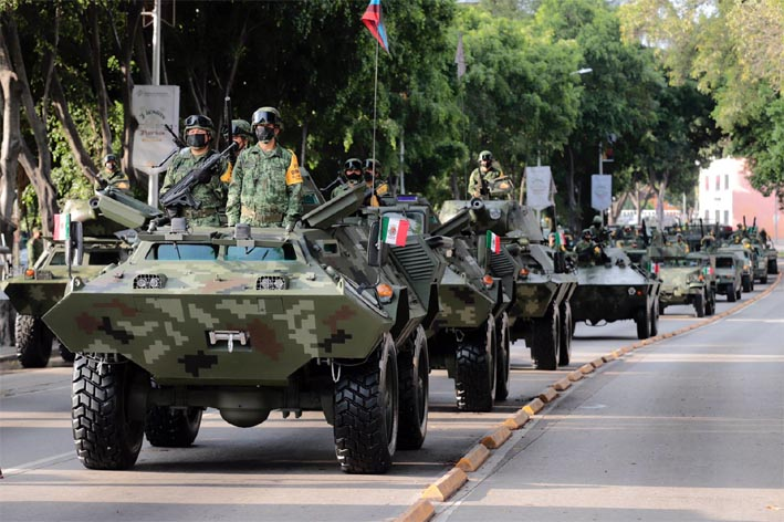 Presentación de Tropas de la XXV Zona Militar
