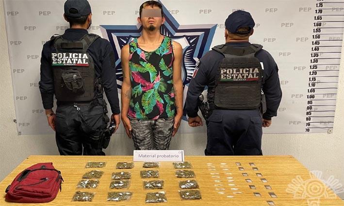 """Detiene Policía Estatal a presunto distribuidor de drogas de """"El Pelón del Sur"""""""