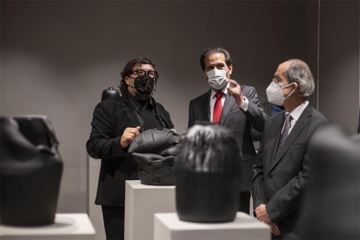 Inaugura Alfonso Esparza el Museo Carolino en el Centro de la Cultura y los Saberes
